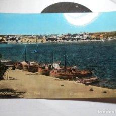 Postales: MAGNIFICA ANTIGUA POSTAL DE MALLORCA PORTO COLOM,MUELLE. Lote 165269746