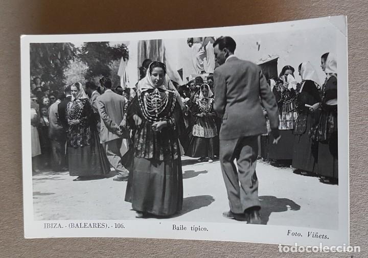 POSTAL DE IBIZA, BALEARES. BAILE TÍPICO. Nº 106. VIÑETS (Postales - España - Baleares Moderna (desde 1.940))