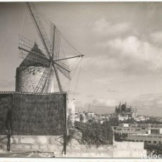 Postales: PALMA DE MALLORCA - ANTIGUO MOLINO DE VIENTO - Nº 80. Lote 166779562