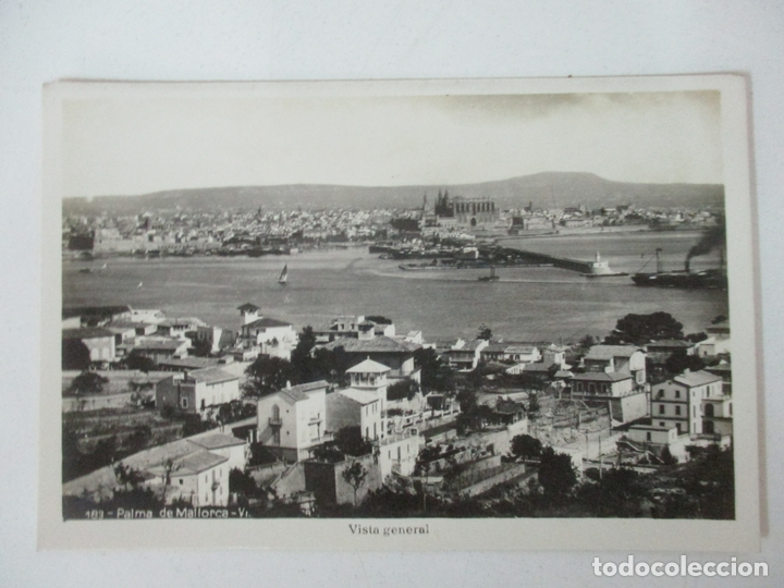 POSTAL PALMA DE MALLORCA - VISTA GENERAL - SIN CIRCULAR (Postales - España - Baleares Antigua (hasta 1939))