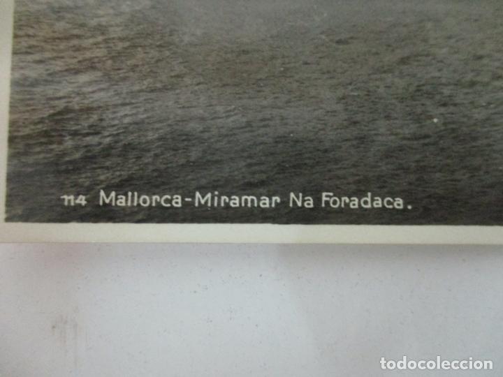 Postales: Postal de Mallorca - Miramar Na Foradaca, (Foradada) con Falta de Ortografía - AM - no Circulada - Foto 2 - 166907144