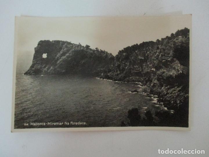 POSTAL DE MALLORCA - MIRAMAR NA FORADACA, (FORADADA) CON FALTA DE ORTOGRAFÍA - AM - NO CIRCULADA (Postales - España - Baleares Antigua (hasta 1939))