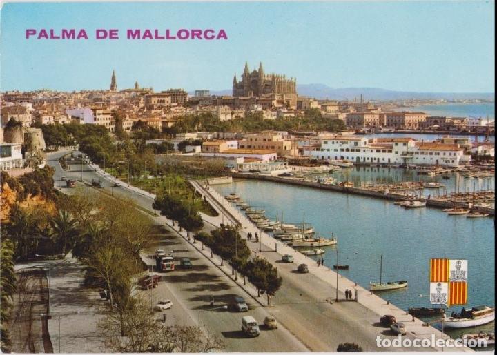MALLORCA, PALMA, PASEO MARÍTIMO - ICARIA 15046 - ESCRITA (Postales - España - Baleares Moderna (desde 1.940))