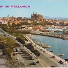 Postales: MALLORCA, PALMA, PASEO MARÍTIMO - ICARIA 15046 - ESCRITA. Lote 167178852