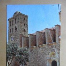 Postales: POSTAL - 288 - IBIZA (BALEARES) - CATEDRAL - EXCLUSIVAS CASA FIGUERETAS. Lote 168503860