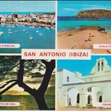 Postales: SAN ANTONIO(IBIZA) ESPAÑA - EXCLUSIVAS CASA FIGUERETAS, Nº 301 - ESCRITA. Lote 169088636