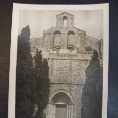 Postales: POSTAL - MALLORCA IGLESIA PARROQUIAL FACHADA SELVA - SIN CIRCULAR. Lote 169103532