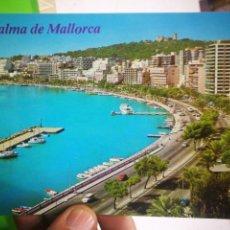 Postales: POSTAL PALMA DE MALLORCA BALEARES PASEO MARITIMO. Lote 169335176