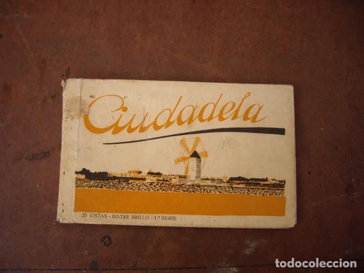 11 POSTALES CIUDADELA L.ROSIN DE LIBRITO DE 20 BISTRE BRILLO 1 SERIE (Postales - España - Baleares Antigua (hasta 1939))