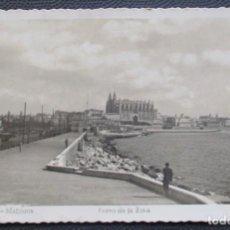 Postales: PALMA DE MALLORCA -PASEO DE LA RIBA- (SOBERANAS Nº 41) 2 FOTOS / CIRCULADA 1951 / P-5411. Lote 169998568