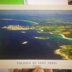 Postales: POSTAL MALLORCA COLONIA DE SANT JORDI. Lote 170372720