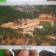 Postales: POSTAL MALLORCA SANTUARI DE LLUC PANORÁMICA DEL SANTUARIO. Lote 170373020