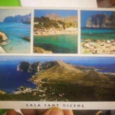 Postales: POSTAL MALLORCA COLA SANT VICENC. Lote 170373712