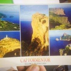 Postales: POSTAL MALLORCA CAP FORMENTOR ISLAS BALEARES. Lote 170373988