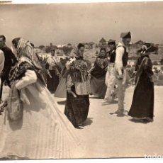 Postales: PS8197 IBIZA - BAILE TÍPICO EN SAN JOSÉ. FOTO VIÑETS. CIRCULADA. AÑOS 50. Lote 170701790