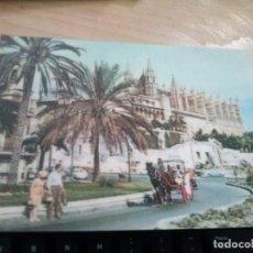 Postales: POSTAL DE CATEDRAL DE PALMA DE MALLORCA CON EFECTO PROFUNDIDAD, HOLOGRAFICO ANTIGUA. Lote 171235393