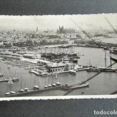 Postales: POSTAL PALMA DE MALLORCA. VISTA AÉREA DEL CLUB NAÚTICO.. Lote 171664495
