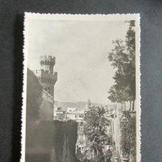 Postales: POSTAL MALLORCA. PALMA. ESCALERA MURALLA. ZERKOWITZ. CLICHÉS Y TIRAJE. . Lote 171664917