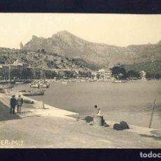 Postales: POSTAL DE SOLLER: PORT. FOTOGRAFICA ANTIGA. ED.TJ. Lote 171939469