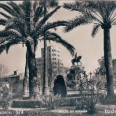 Postales: POSTAL PALMA DE MALLORCA - PLAZA DE ESPAÑA - ZERKOWITZ 573. Lote 172623413