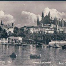 Postales: POSTAL MALLORCA - PALMA - LONJA Y CATEDRAL - ZERKOWITZ 537 - ESCRITA. Lote 172995034