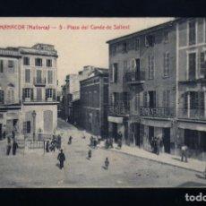 Postales: MANACOR(MALLORCA) ED.ATV Nº5 PZA.DEL CONDE DE SALLENT AÑOS 20 SIN CIRCULAR COMO NUEVA. Lote 173453769