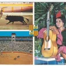 Postales: 11.020 - PALMA DE MALLORCA. PLAZA DE TOROS Y BASILIO Y SUS DANZAS DE ESPAÑA. Lote 173640645