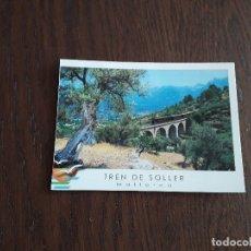 Postales: POSTAL DE MALLORCA, TREN DE SOLLER.. Lote 173649298
