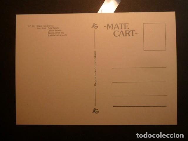 Postales: Cala Badella, Cala Vadella. Ibiza. Mate Cart - Foto 2 - 173866555