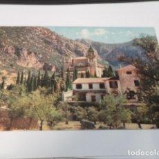 Postales: MALLORCA - POSTAL VALLDEMOSA - LA CARTUJA. Lote 173929657