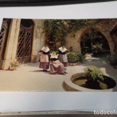 Postales: MALLORCA - POSTAL VALLDEMOSA - PALACIO DEL REY SANCHO (PRIMITIVA CARTUJA) - JARDINES. Lote 173929722
