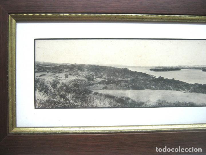 Postales: Vista panoramica del Puerto de Mahon ( con Isla de las Ratas) - rara Edicion J. Bracons Barcelona - Foto 3 - 174104458