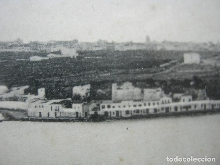 Postales: Vista panoramica del Puerto de Mahon ( con Isla de las Ratas) - rara Edicion J. Bracons Barcelona - Foto 4 - 174104458