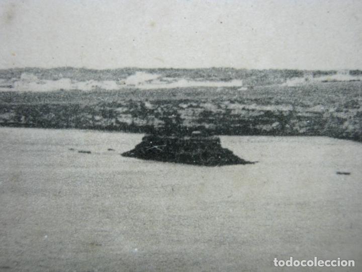Postales: Vista panoramica del Puerto de Mahon ( con Isla de las Ratas) - rara Edicion J. Bracons Barcelona - Foto 6 - 174104458