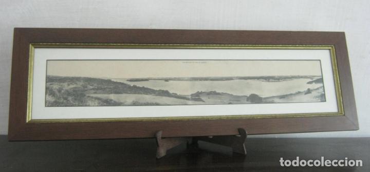 VISTA PANORAMICA DEL PUERTO DE MAHON ( CON ISLA DE LAS RATAS) - RARA EDICION J. BRACONS BARCELONA (Postales - España - Baleares Antigua (hasta 1939))