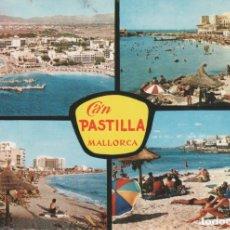 Postais: (950) MALLORCA. PLAYAS DE CA'N PASTILLA. Lote 174260815