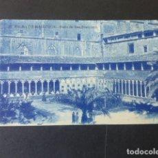 Postales: PALMA DE MALLORCA PATIO DE SAN FRANCISCO. Lote 175455813