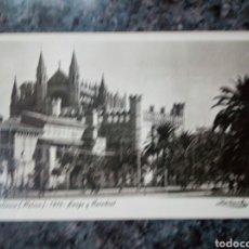 Postales: POSTAL DE MALLORCA. PALMA. LONJA Y CATEDRAL.. Lote 175523373