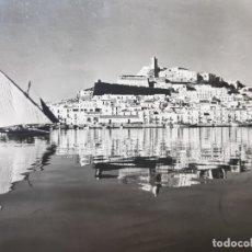 Postales: POSTAL IBIZA 1955 CIRCULADA ,ESPECTACULAR . Lote 175850910