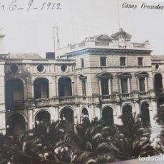 Postales: POSTAL SABADELL 1912 CON DEDICATORIA ,ESPECTACULAR . Lote 175852114