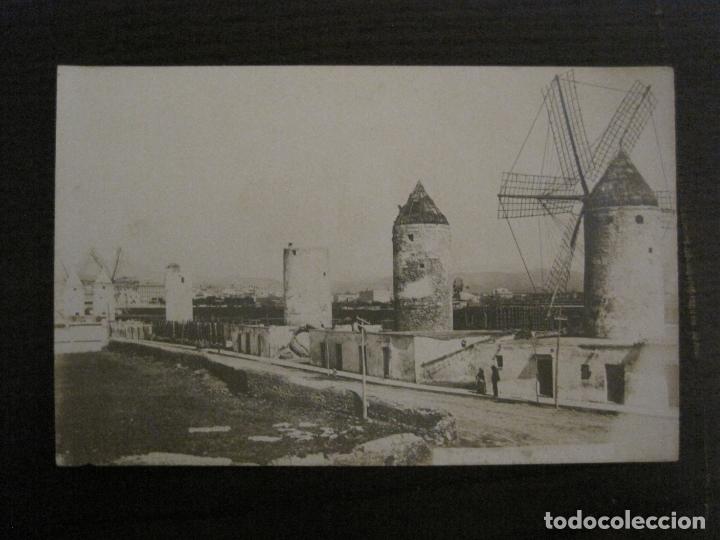PALMA DE MALLORCA-EL MOLINAR-MOLINOS DE VIENTO-POSTAL FOTOGRAFICA-VER FOTOS-(62.138) (Postales - España - Baleares Antigua (hasta 1939))