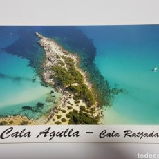 Postales: POSTAL DE MALLORCA CALA AGULLA CALA RATJADA BALEARES - POSTALES EL MAR 268 - MEDIDAS 115 X 160 MM. Lote 176050128