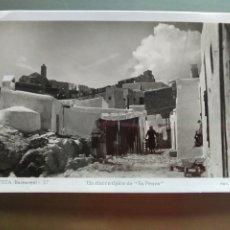 Postales: POSTAL IBIZA BALEARES 37 UN RINCON TIPICO DE SA PENYA. Lote 176289652