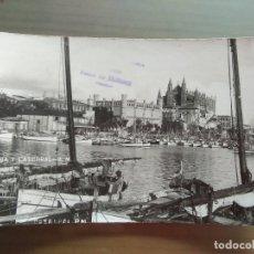 Postales: POSTAL PALMA DE MALLORCA LONJA Y CATEDRAL. Lote 176292674