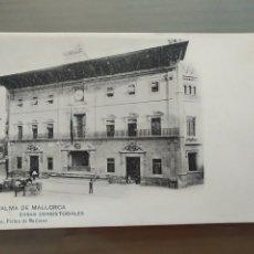 Postales: POSTAL PALMA DE MALLORCA CASAS CONSISTORIALES. Lote 176439094