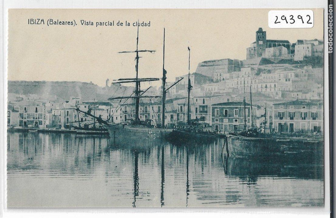 EIVISSA / IBIZA - VISTA PARCIAL DE LA CIUDAD - P29392 (Postales - España - Baleares Antigua (hasta 1939))