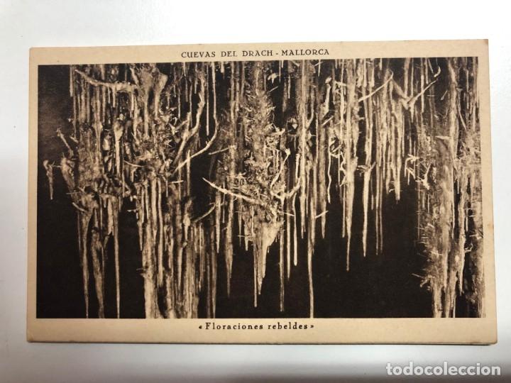 Postales: POSTALES DE LAS CUEVAS DEL DRACH EN PORTO-CRISTO-MALLORCA - Foto 2 - 176807422