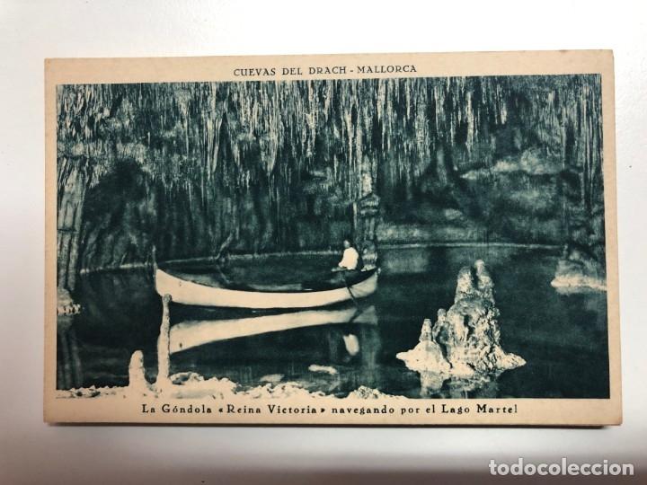 Postales: POSTALES DE LAS CUEVAS DEL DRACH EN PORTO-CRISTO-MALLORCA - Foto 3 - 176807422