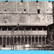 Postales: POSTAL DE MALLORCA PALMA DE CLAUSTRO DE SANT FRANCISCO EDITÓ LA NUEVA SIN CIRCULAR . Lote 176925638