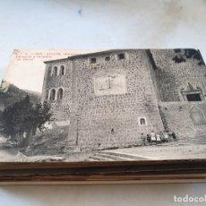 Postales: POSTAL ANTIGUA MALLORCA. SÓLLER. CONVENTO Y CARRETERA DE PALMA. ATV 3831. CIRCULADA. . Lote 177949255